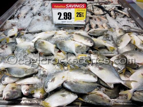 Fresh fish at Seafood City