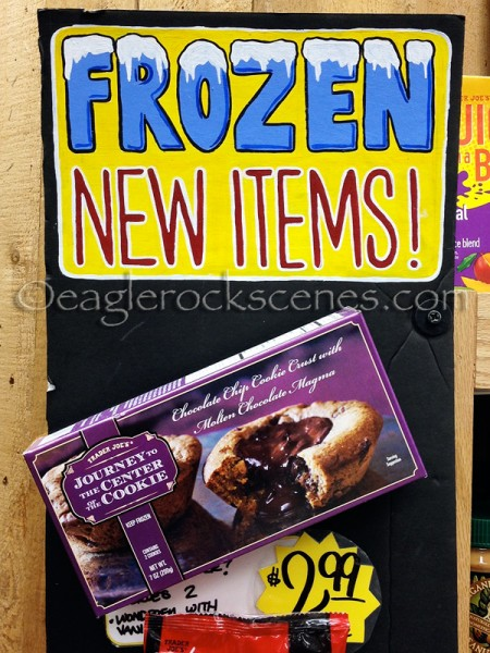 Amazing frozen Trader Joe's cookie