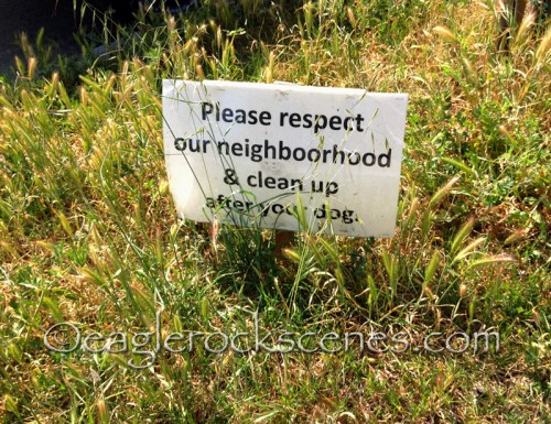 Respect also means neat, weed-free common areas