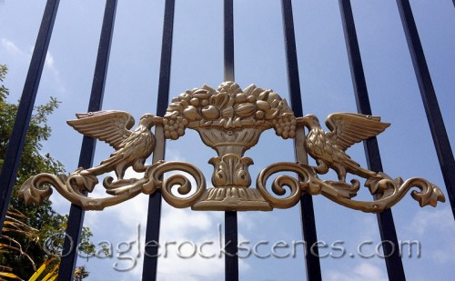 Ornamental Iron in gold