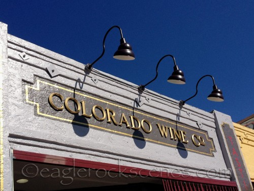 New location and new signage for Colorado Wine Company