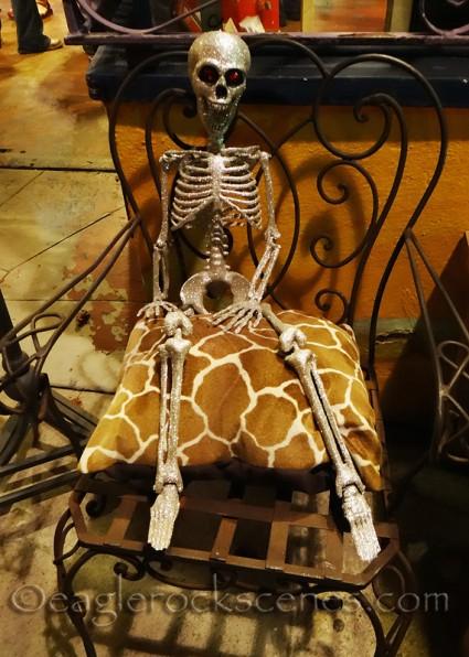 Sparkly skeleton