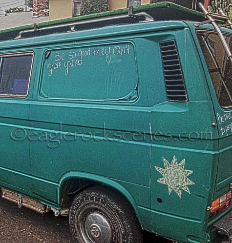 Somebody's hippie van