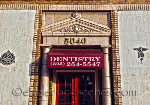 Dentistry building on Eagle Rock Blvd.