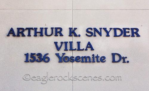 Arthur K. Snyder Villa
