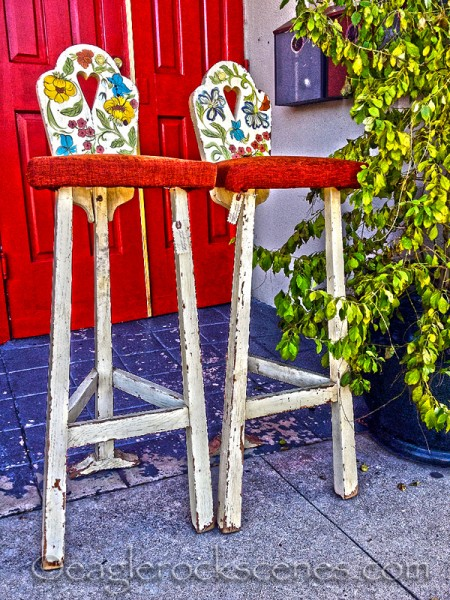 Vintage barstools for sale