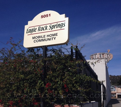 Eagle Rock Springs mobile home community