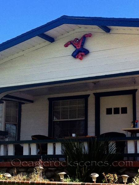 Amazing Spiderman in Highland Park