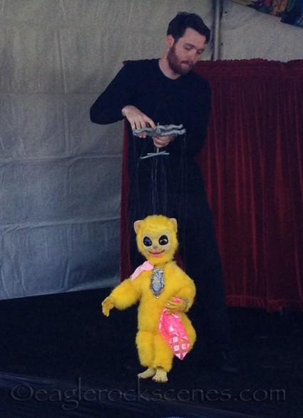 Bob Baker Cat Marionette