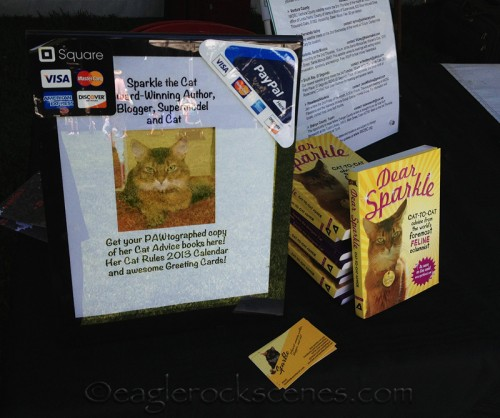 Sparkle the Designer Cat books for sale!