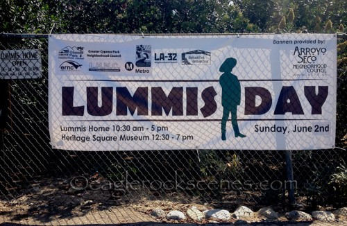 Sunday was Lummis Day
