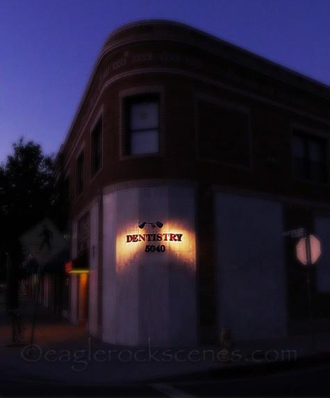 Dentistry building on Eagle Rock Blvd.