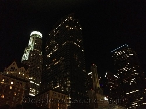 downtown Los Angeles from Pershing Square