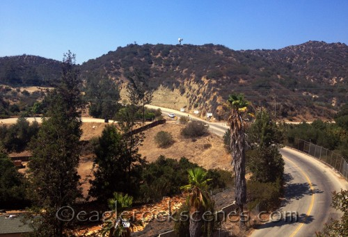 View on the Eagle Rock Canyon Trail