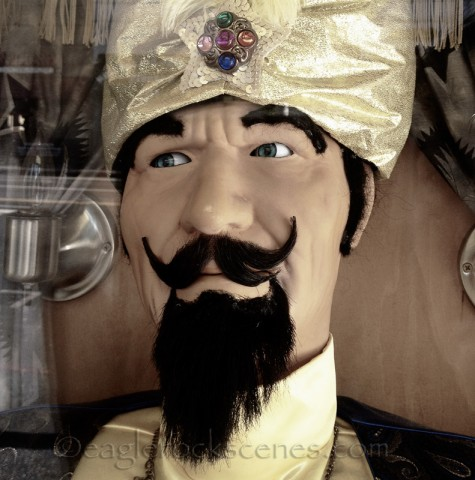 Zoltar close up