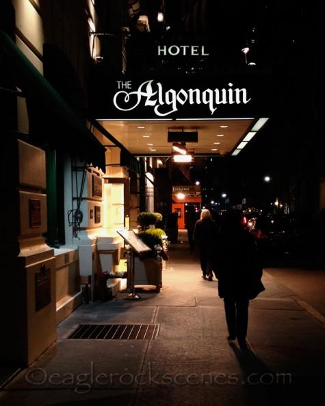 Exterior, the Algonquin Hotel