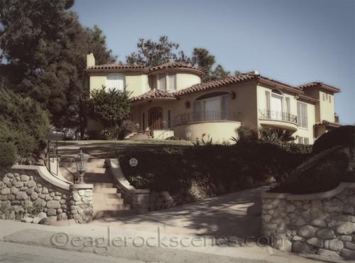 vintage Spanish style mini-mansion