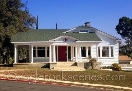 A pretty Craftsman home in Eagle Rock