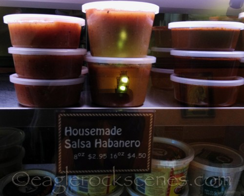 Housemade Salsa Habanero at CaCao Mexicatessen