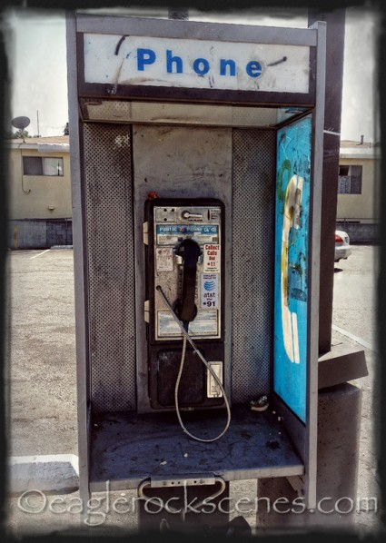 Pay phone by 7-11 on Colorado