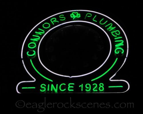 Connors Plumbing, normal shutter speed