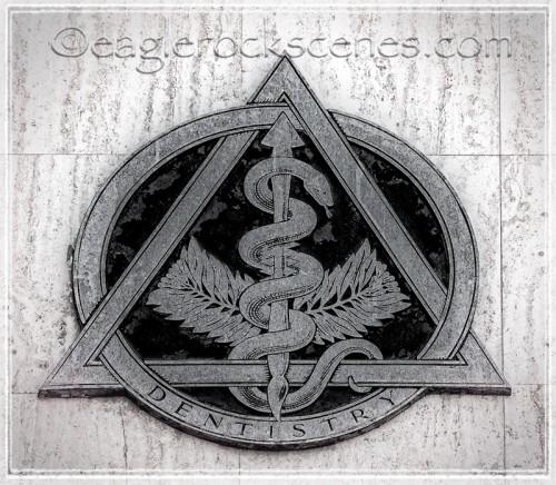 Dentistry insignia, Eagle Rock Blvd.