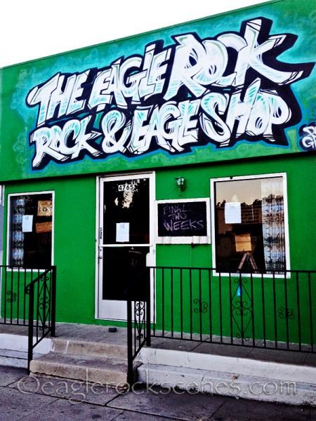 Eagle Rock Rock and Eagle Shop