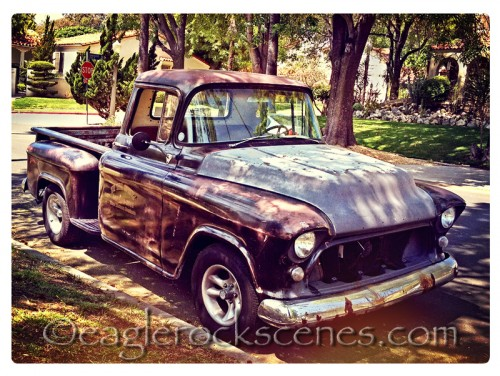 A vintage truck