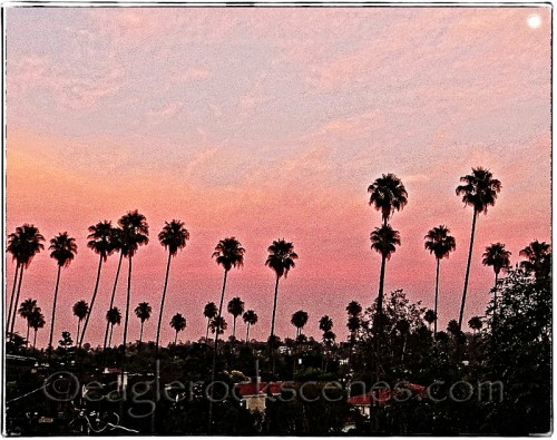 Sunset from my backyard