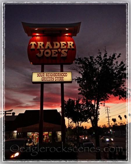 Trader Joe's sign