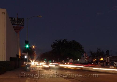 Colorado and Mt Royal Drive at twilight
