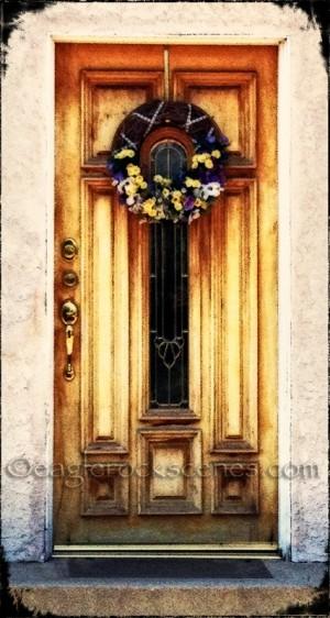 A Sunday sort of front door