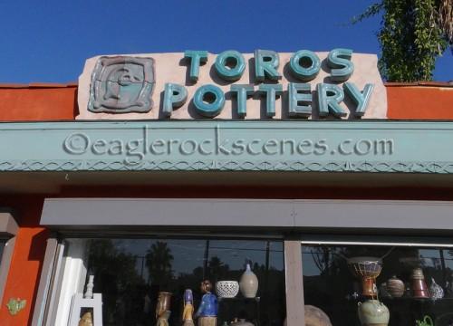 Toros Pottery sign