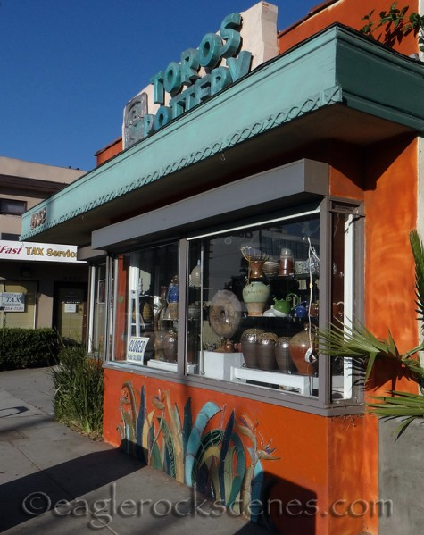 Toros Pottery - closed on Sunday!