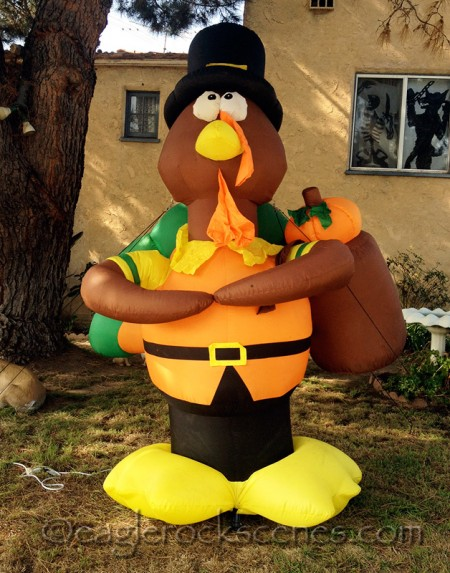 Thanksgiving Blow-Up Turkey Number One