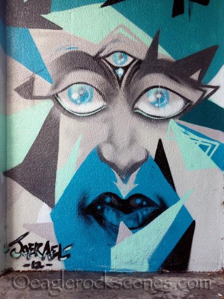 Wall art by Core Club LA