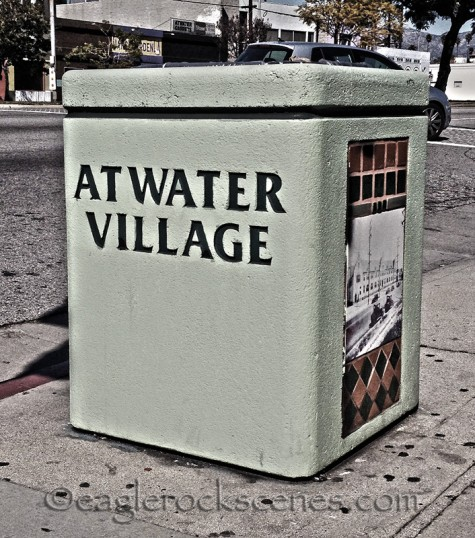 An Atwater trash receptacle