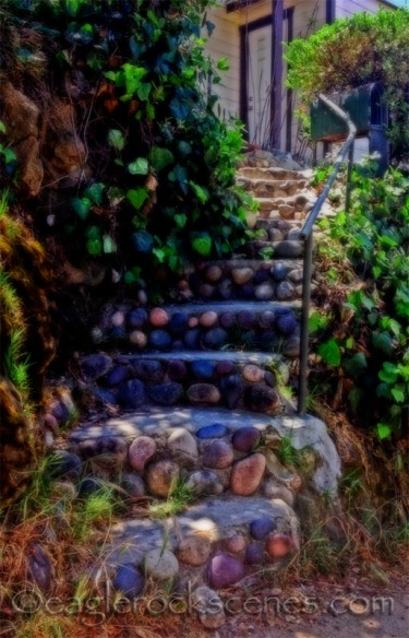Actually only became fairy steps after a generous application of digital photo effects