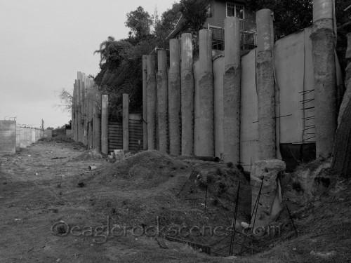 Rotting, ugly pillars