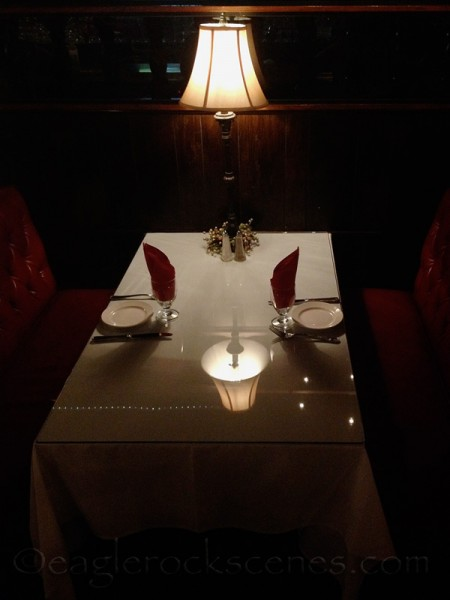 table for two at Colombo's