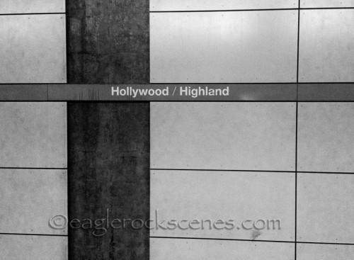 Hollywood and Highland Metro Rail station
