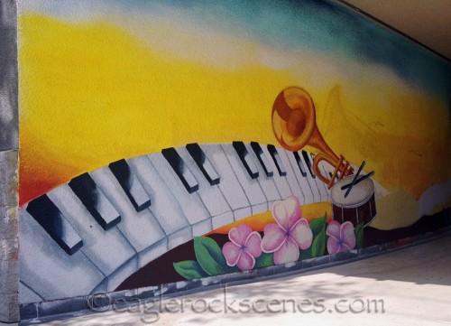 Mural at Rockdale Elementary School