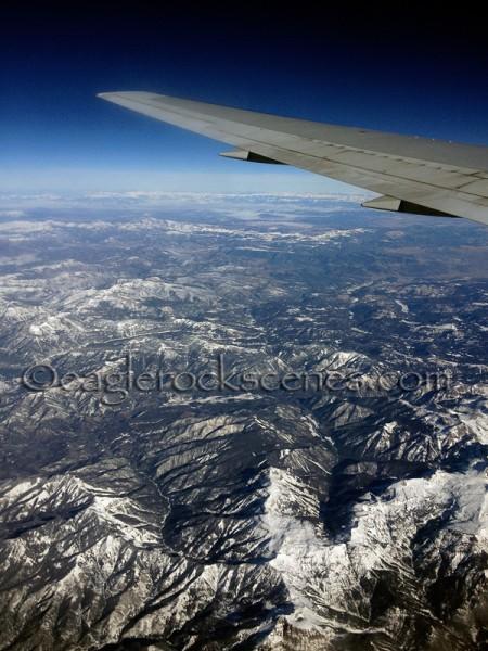 Snowy mounatintops