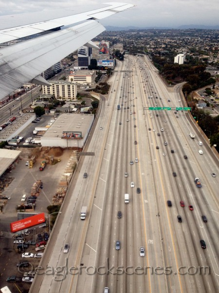 This shot is a miracle - the 405 NEVER looks like this during a weekday