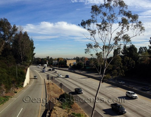Looking east over the 134 freeway